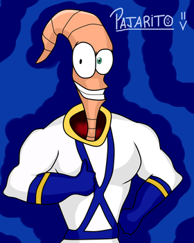 Earthworm Jim by Pajarito-Alvarez