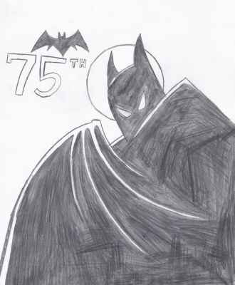 Happy 75th Anniversary, Batman!! 1939-2014! by Kaizer617