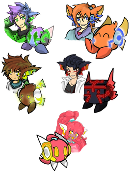 What did they look like- AEROLING BABIES by RyThunder13-Ikazuchi