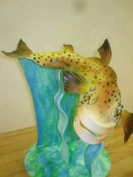 Pastillage Rainbow Trout 2 by recycledrapunzel