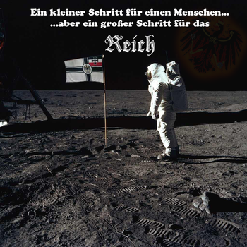 Germany conquers the moon by Arminius1871
