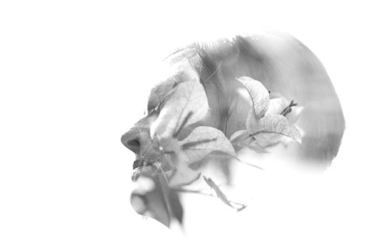 Flora in Grey by Drinkdog