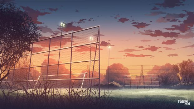 football field by mclelun