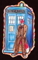 Dr. Who Rozz badge by Stormslegacy