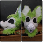 Bat Finished Head COMM by MumzyHyenaBat