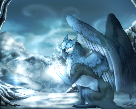 Art trade: Winter by N6ndGryph