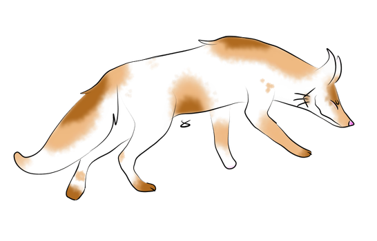 Fox Adoptable #5 by TheStoneOfDoom