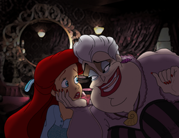 Western Disney - Poor Unfortunate Soul by daKisha