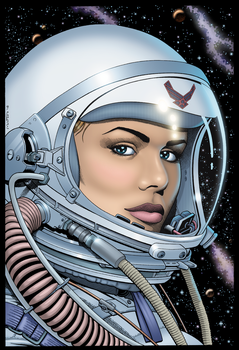 Space Girl by packy1800