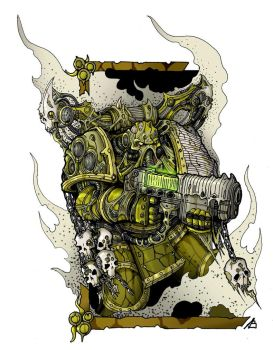 Plague marine by Sufferst