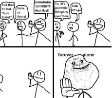 Forever Alone by tomastocornal
