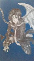 Angel and the chains of fate [ Teito ] pencil by Kurohimex105