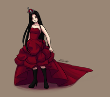 queen of hearts concept by Kare-Valgon