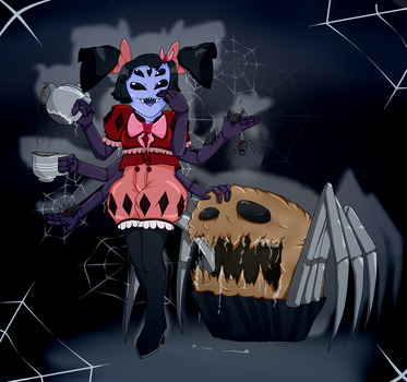 Lil' Miss Muffet by SoUr-MaNtIs