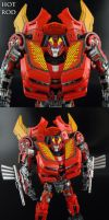Transformers DotM Hot Rod by Jin-Saotome