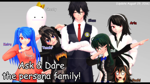 *MOVED* Ask and Dare the Persona Family! by TwilightAngelTM