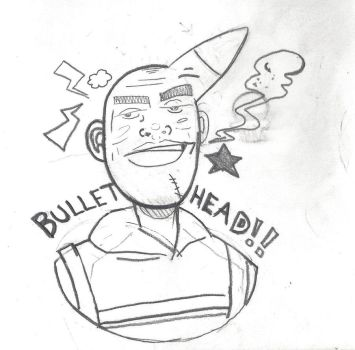 Bullethead by MokMonster
