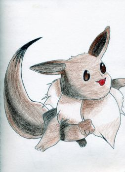 Eevee by AngryCab00se