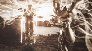 Auriel and Imperius - Diablo 3 cosplay by emmabellish