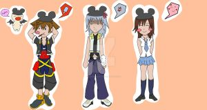 Kingdom Disney Land group-1- by Animequeen111