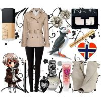 Fem!Iceland's outfit by epicperson87