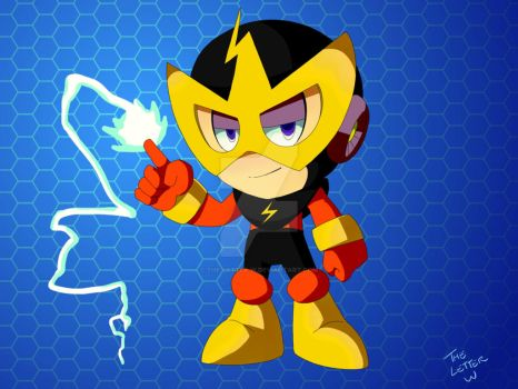 Day 14 - Nendoroid Elec Man by The-Letter-W