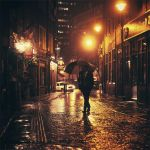 Boston: The Autumn Rain. by inbrainstorm