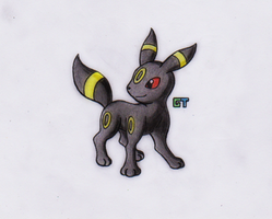 #197 - Umbreon by GTS257-CT