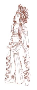 costume design: hippolyta by baxxx