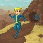 Fallout: Vault Boy by Satha