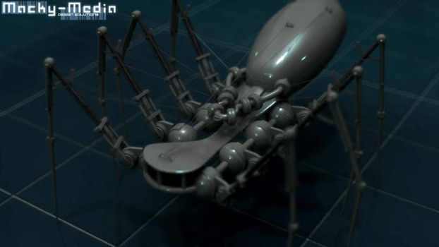 Spider bot by Macky