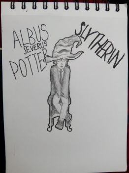 Albus and the Sorting Hat by timelordoftherings