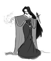 Lady Necromancer by Skyserpent