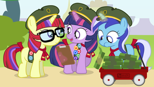 Cookie Scout Fillies by dm29