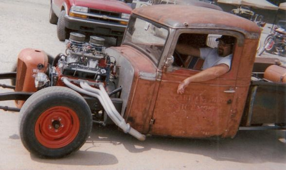 Real Low Rat Truck by Blazing-Ace