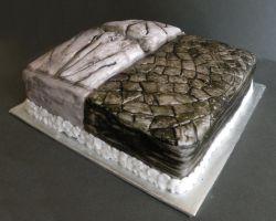 Pavement cake view 2 by cake-engineering