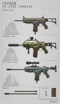 Charon weapon concept 2 by ProxyGreen