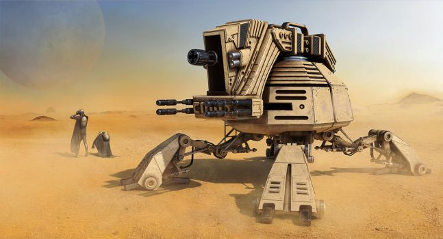 Robot turret by romal-r