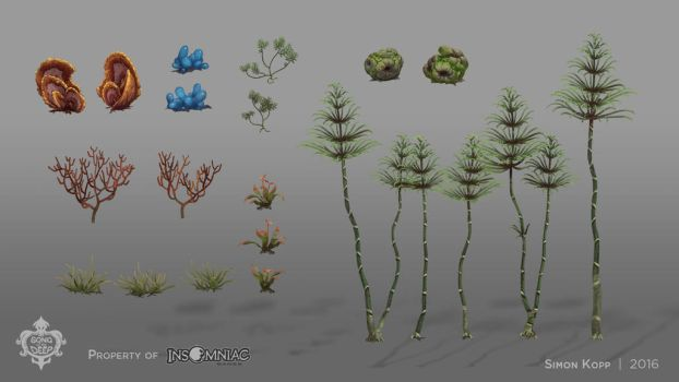 Song of the Deep - Bamboo Forest Assets by acapulc0