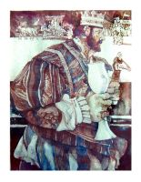 Early Days 3_The Renaissance Fair King by richardcgreen