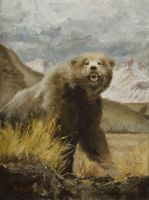 Grizzly by lordofthepirates