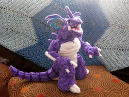Pipe Cleaner NidoKing SOLD by DarkSaberCat