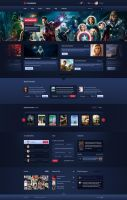 MovieBubbles - movie online portal by SycylianBeef
