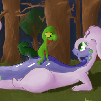 Gooey Meeting by BUBBLE-LUGIA