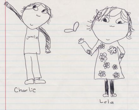 Charlie and Lola by Clementine98
