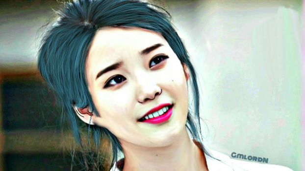 IU smudge 1 by GmLordN