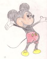 Mickey Mouse by DradonX90