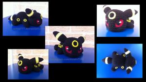 Baby Umbreon (with pattern) by aphid777