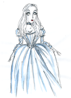the  White  Queen by DemonCartoonist