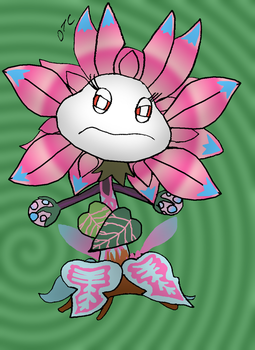 PvZ: Garden Warfare 2 - Royal Hypno-Flower by Rose-Supreme
